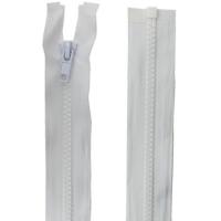 Fermeture injecté 65cm Blanc