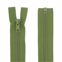 Fermeture injecté 60cm Vert Armée