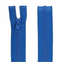 Fermeture injecté 50cm Bleu Roy