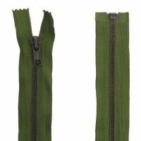 Fermeture Métal Bronze 45cm Vert Armée