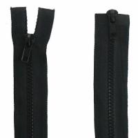 Fermeture  double curseur 55cm Noir