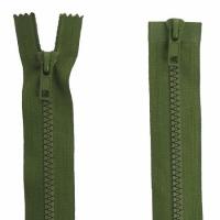 Fermeture  double curseur 75cm Vert armée