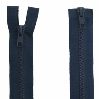 Fermeture  double curseur 75cm Bleu Marine