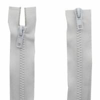 Fermeture  double curseur 90cm Blanc