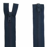Fermeture  double curseur 80cm Bleu Marine