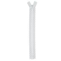 Fermeture dentelle invisible 20cm Blanc