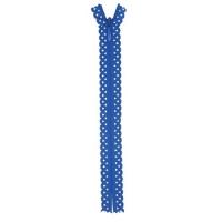 Fermeture dentelle invisible 40cm Bleu Foncé