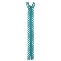 Fermeture dentelle invisible 40cm Vert Sarcel