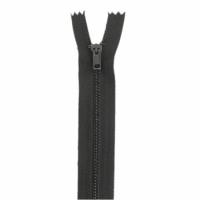 Fermeture pantalon métal 15cm Marron Foncé