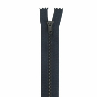 Fermeture pantalon métal 15cm Bleu Marine