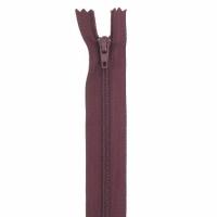 Fermeture pantalon 15cm Bordeaux Foncé