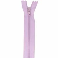 Fermeture pantalon 18cm Lilas Clair