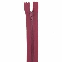 Fermeture pantalon 18cm Bordeaux