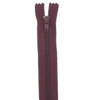 Fermeture pantalon 18cm Wine