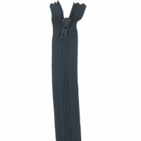 Fermeture pantalon 18cm Bleu Marine Foncé