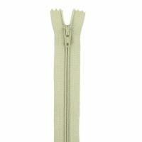 Fermeture pantalon 18cm Kaki Clair Pale