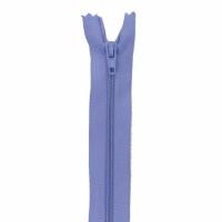 Fermeture pantalon 20cm Lilas Bleu