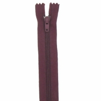 Fermeture pantalon 20cm Wine