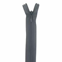 Fermeture invisible 40cm Gris