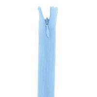 Fermeture invisible 40cm Bleu Clair