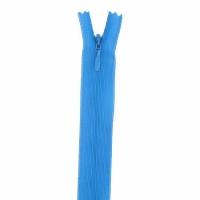 Fermeture invisible 40cm Bleu Turquoise