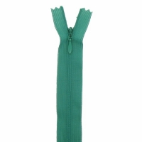 Fermeture invisible 60cm Vert Sapin