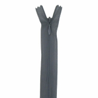 Fermeture invisible 60cm Gris