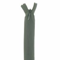 Fermeture invisible 60cm Vert Kaki