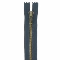 Fermeture jeans 8cm Bleu Marine
