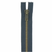 Fermeture jeans 12cm Bleu Marine